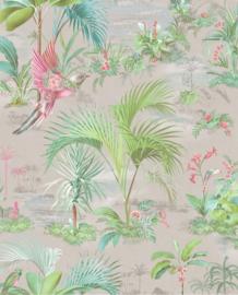Eijffinger Pip Studio 5 behang Palm Scenes Grey 300142