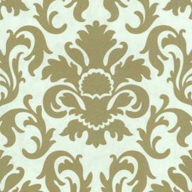 Barok Behang Goud Gebrokenwit 13343-72