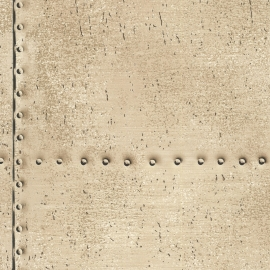 Dutch Oxford behang 2604-21254 Riveted Industrial Tile