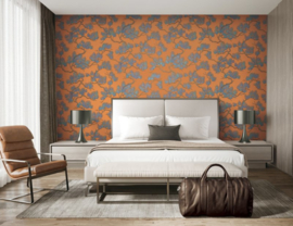 Dutch Wallcoverings Wall Fabric Pine Tree Behang WF121016