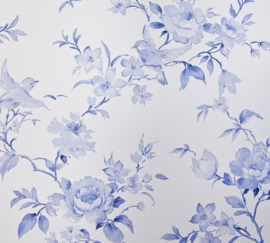 BLOEMEN VOGEL BEHANG 7486-5  ROYAL DUTCH