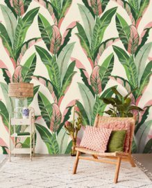Eijffinger Vivid Wallpower 384601 Miami Blush