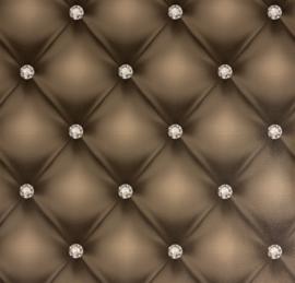 Chesterfield-Look met 3D diamanten 34144-2