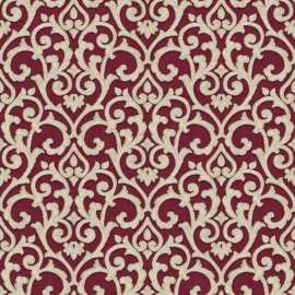 Behangexpresse Florence FR87226 Klassiek/Barok/Ornament/Bordeaux Behang