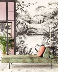 Eijffinger Vivid Wallpower 384604 Tropical Charcoal Large