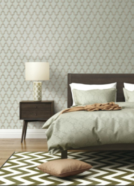 Dutch Wallcoverings Wall Fabric Geometric Behang WF121023