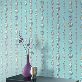 CRYSTAL TEAL BEHANG - Arthouse Options 2 670801