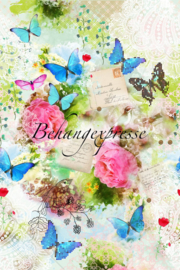 Behangexpresse COLORchoc Wallprint Spring Romance INK 6057