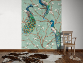 AS Creation Absolutely Chic Digital Print Bird Turquoise DD114648