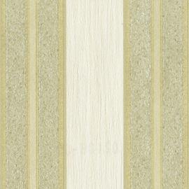 Goud Wit Streep Behang  02438-62
