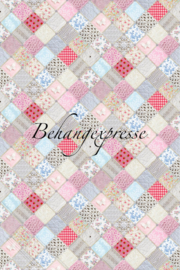 Behangexpresse COLORchoc Wallprint Patchy INK 6068