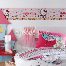 hello kitty behangrand disney band meisjes kinderen baby 715