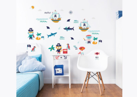 Walltastic 2020 Pirate 45002 Wall Stickers - Dutch Wallcoverings