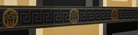 Versace Behangrand 93522-4 zwart goud klassiek