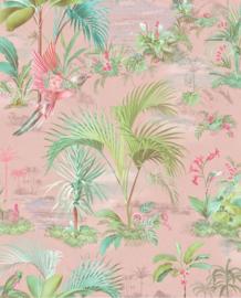 Eijffinger Pip Studio 5 behang Palm Scenes Pink 300141
