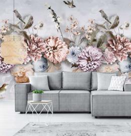Behangexpresse Floral Utopia Fotobehang INK7550