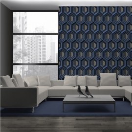 Dutch Wallcoverings Kinetic J407-01 Retro behang