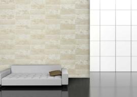 Vliesbehang stone-look wit  5072-1