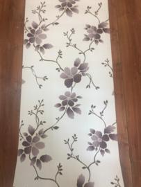 Paars Bloemen Behang 8968-09