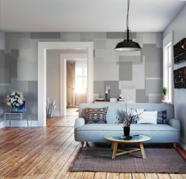 Behangexpresse Timeless Wallprint Panel Grey INK 7180
