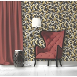 Dutch Wallcoverings Kaleidoscope Glanzend Pistool Behang j97102