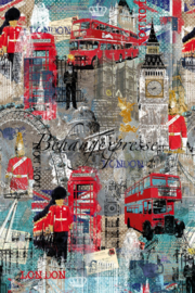 Behangexpresse COLORchoc Wallprint London INK 6078