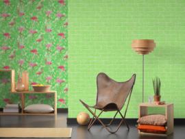 groen steen behang 35981-3