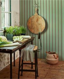 Eijffinger Pip Studio 5 behang Blurred Lines Green 300134