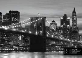 Fotobehang Brooklyn Bridge FTS0199