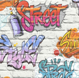 Dutch Freestyle behang Graffiti L179-05