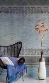 Eijffinger Siroc Wallpower 376092 Tapestry Indigo Shibori