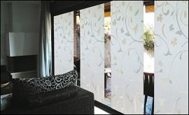 Statische raam moderne bloemen  -37