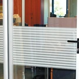 Statische raam strepen wit   -21