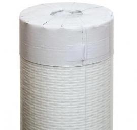 Glasvlies Standaard Voorgesausd 50x1M wit behang
