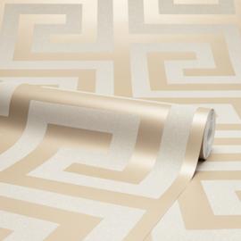 Versace Griekse sleutel Glitter Behang HI11005