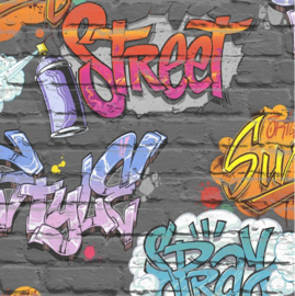 Dutch Freestyle behang Graffiti L179-01