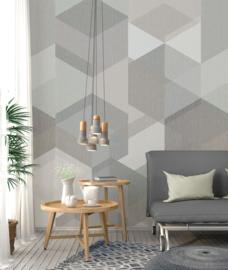 Behangexpresse Timeless Wallprint Hexa Light INK 7161