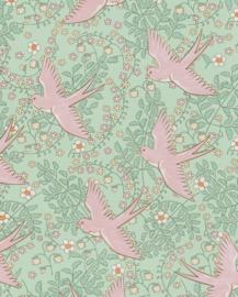 Eijffinger Rice Vogel Behang 359022