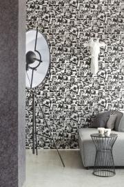 Eijffinger Black & Light behang 356042