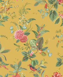 Eijffinger Pip Studio 5 behang Floris Yellow 300112