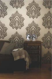 Barok Vloers Behang 80639