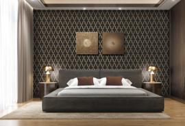 Dutch Wallcoverings Wall Fabric Geometric Behang WF121025