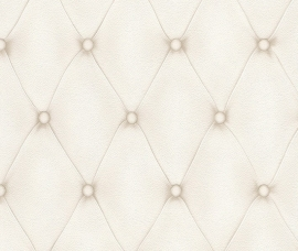 Chesterfield 3d behang 2604-21232 Tufted Leather 576269