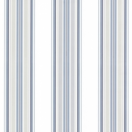 Dutch Oxford behang 2604-21209 Marine Sailor Stripe