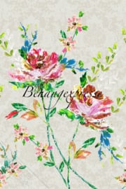 Behangexpresse COLORchoc Wallprint Wild Roses INK 6074