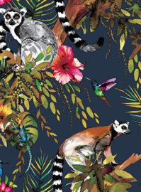 Dutch Wallcoverings Imaginarium Lemur 12403