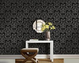 barok  First Class Black & White behang 1301800