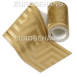 Versace Behangrand 93522-2 goud grieksesleutel