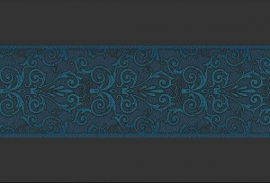 AS Creation Versace Behangrand 93547-4 klassiek 3D blauw