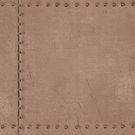 Dutch Oxford behang 2604-21253 Riveted Industrial Tile